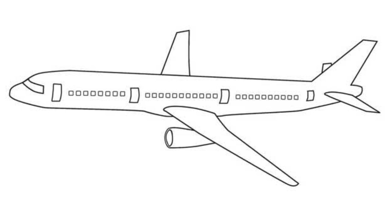 - Free Printable Airplane Coloring Pages For Kids