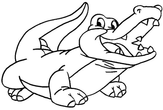 Free Printable Alligator Coloring Pages For Kids   435x640