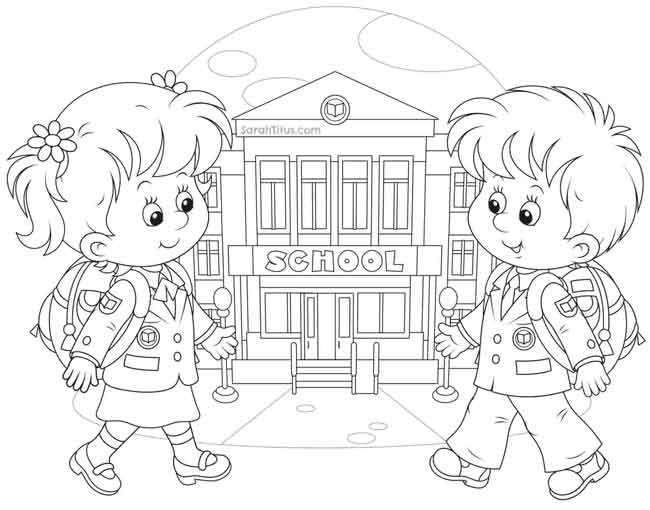 - 10 Best Free Printable Back To School Coloring Pages For Kids
