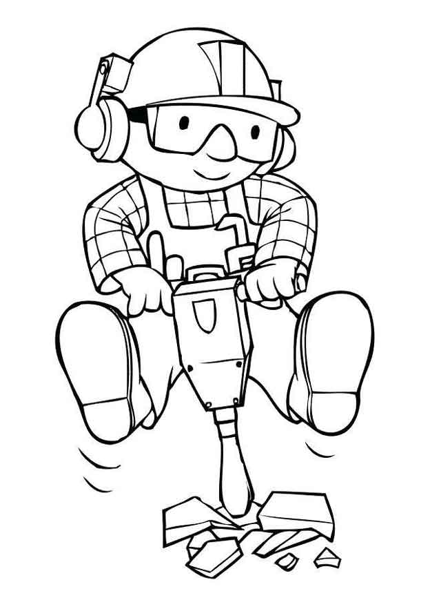 11 Best Free Printable Bob The Builder Coloring Pages For Kids