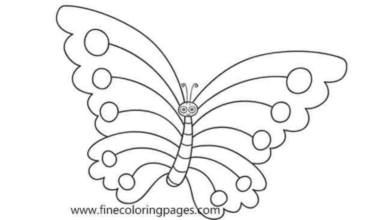18 Best Free Printable Butterfly Coloring Pages For Kids