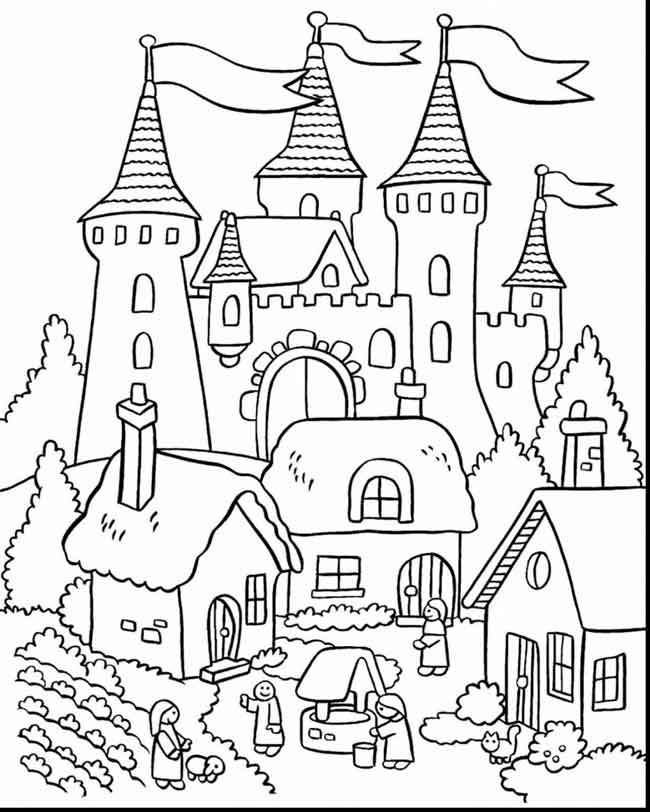 - 12 Best Free Printable Castle Coloring Pages For Kids And Adults
