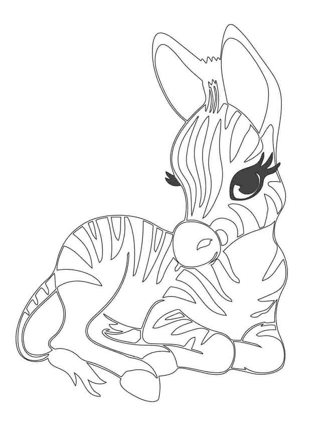 10 Best Free Printable Baby Animal Coloring Pages For Kids