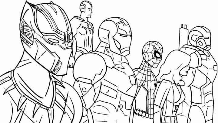 13 Best Free Printable Avengers Coloring Pages For Kids ...