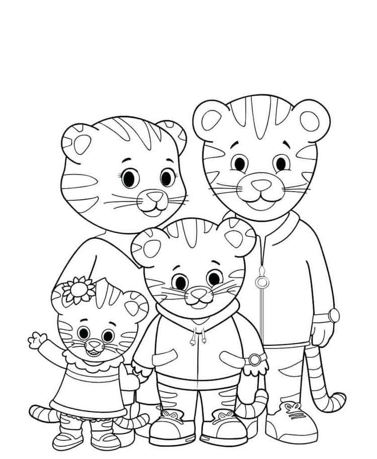 11 Best Free Printable Daniel Tiger Coloring Pages For Kids