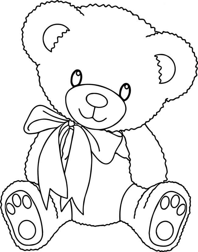 11 Best Free Printable Bear Coloring Pages For Kids