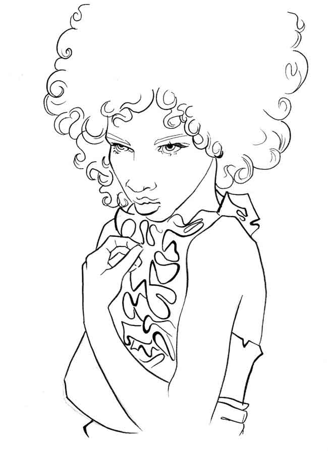 Cute girl coloring pages to download and print for free. Spring ... | 895x650