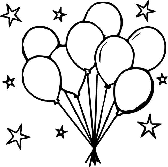 10 Best Free Printable Balloon Coloring Pages For Kids