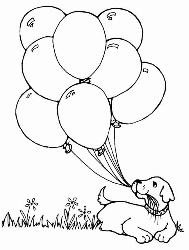 - 10 Best Free Printable Balloon Coloring Pages For Kids