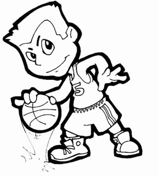 12 Best Free Printable Basketball Coloring Pages For Kids