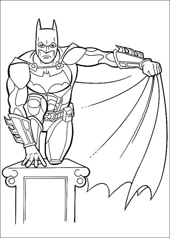 12 Best Free Printable Batman Coloring Pages For Kids