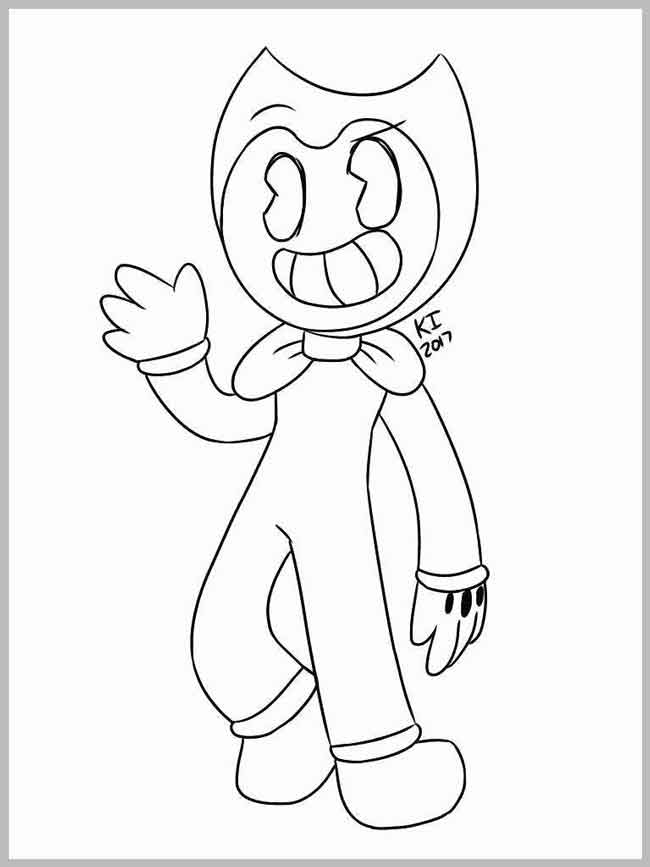 - 10 Best Free Printable Bendy And The Ink Machine Coloring Pages For Kids