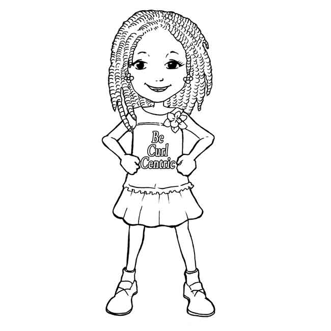 10 Best Free Printable Black Girl Coloring Pages For Kids