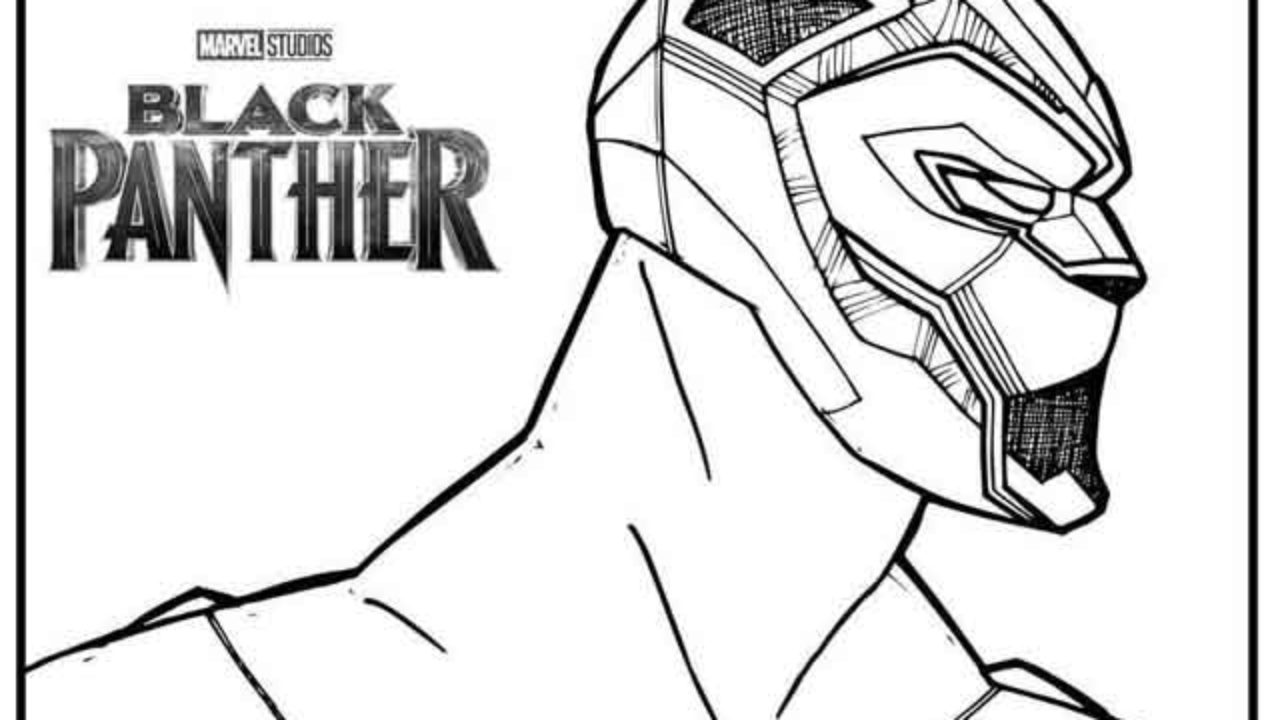 - 10 Best Free Printable Black Panther Coloring Pages For Kids