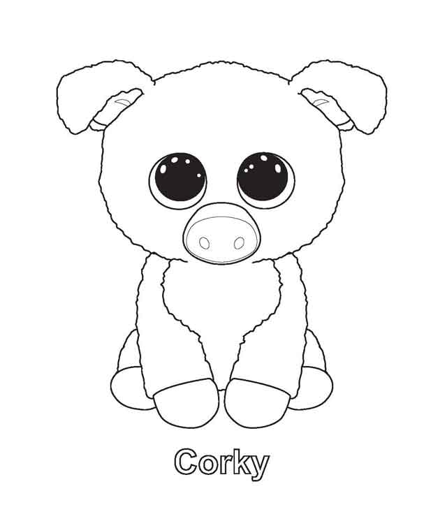 11 Best Free Printable Beanie Boo Coloring Pages For Kids