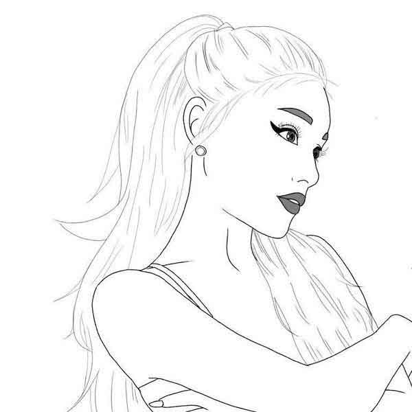 10 best free printable billie eilish coloring pages for kids