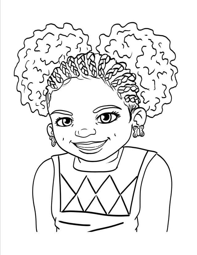 - 10 Best Free Printable Black Girl Coloring Pages For Kids