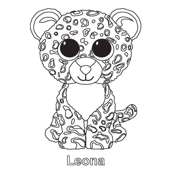 - 11 Best Free Printable Beanie Boo Coloring Pages For Kids
