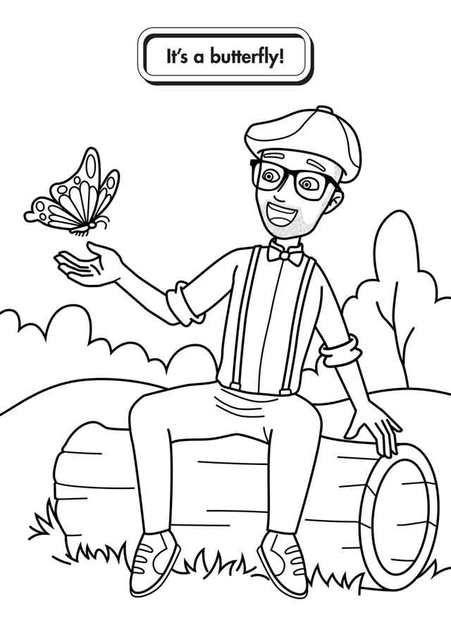 - 10 Best Free Printable Blippi Coloring Pages For Kids