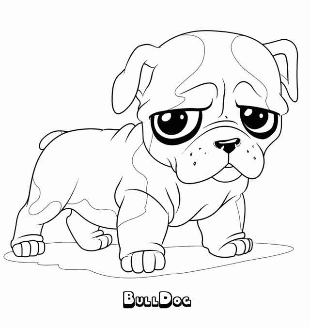 10 Best Free Printable Bulldog Coloring Pages For Kids
