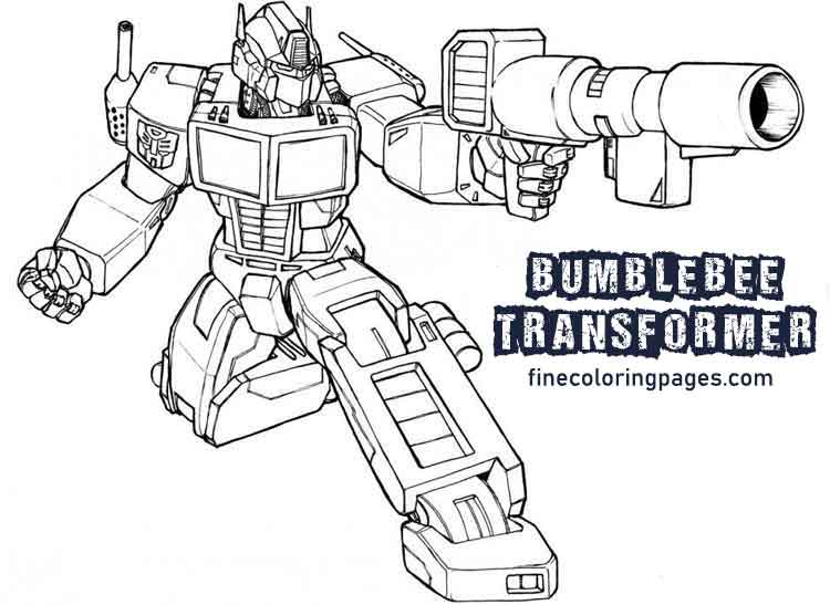 10 Best Free Printable Bumblebee Coloring Pages For Kids