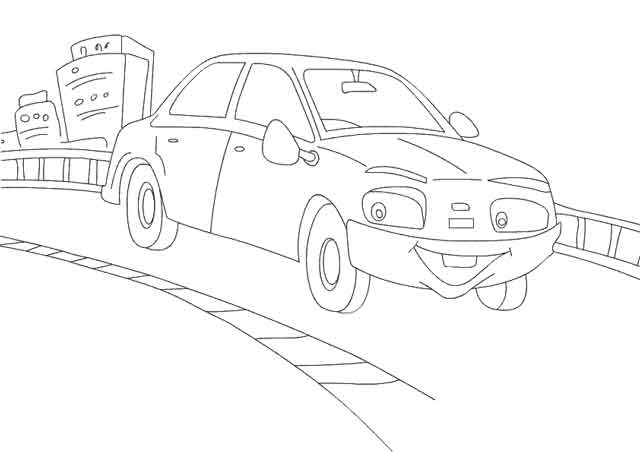 - 14 Best Free Printable Cars Coloring Pages For Kids