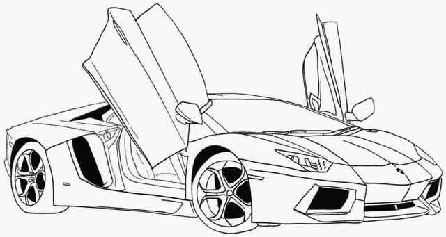 Sports coloring: Ferrari Car Coloring Pages | Coloring-book.buzz | 341x640