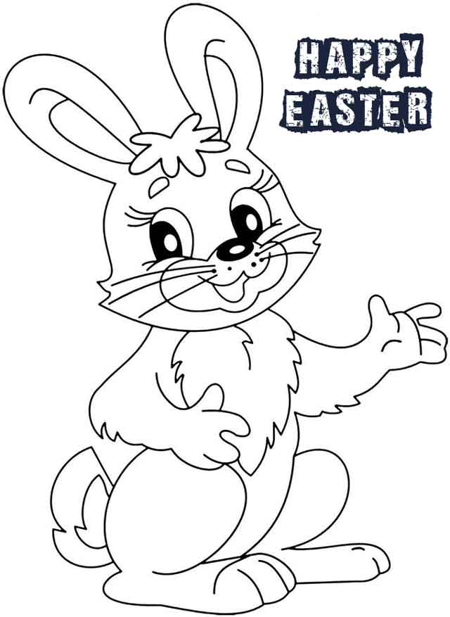 12 Best Free Printable Bunny Coloring Pages For Kids | 877x640