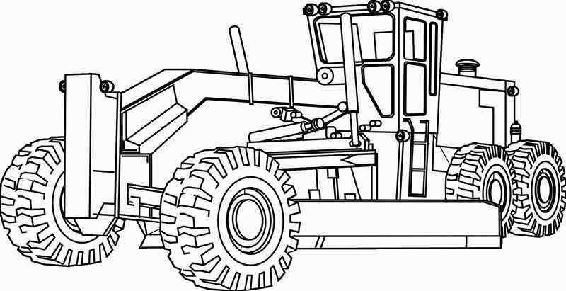 Free Construction Coloring Pages Free Printables, Download Free ... | 411x800