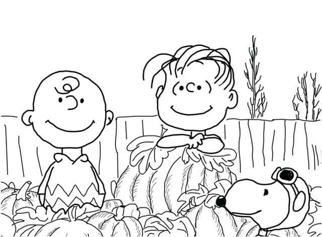 11 Best Free Printable Charlie Brown Coloring Pages For Kids
