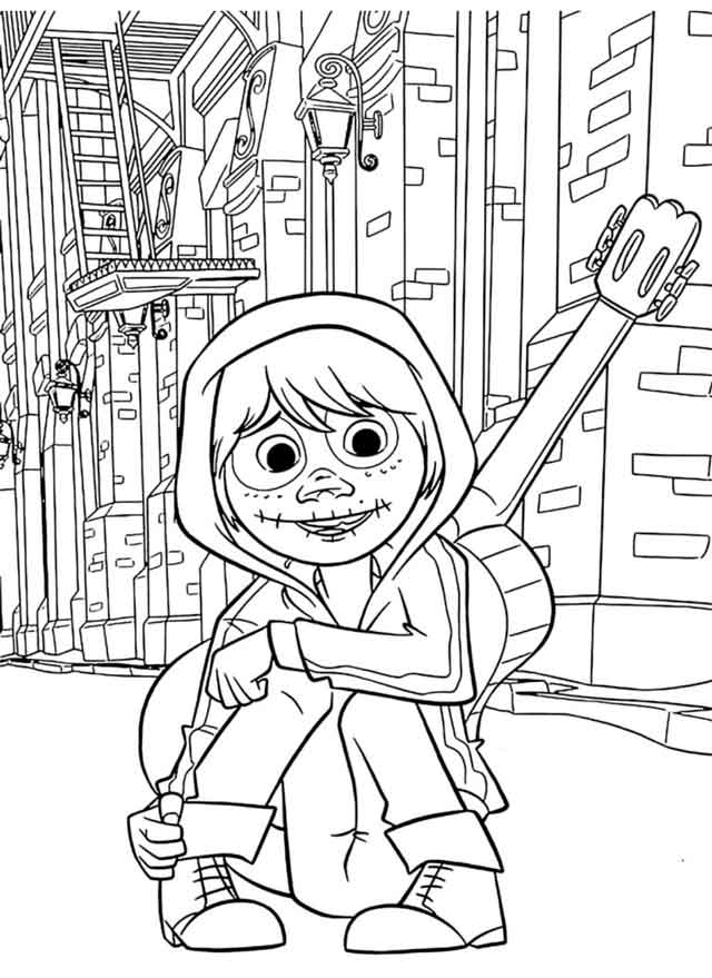 11 Best Free Printable Coco Coloring Pages For Kids