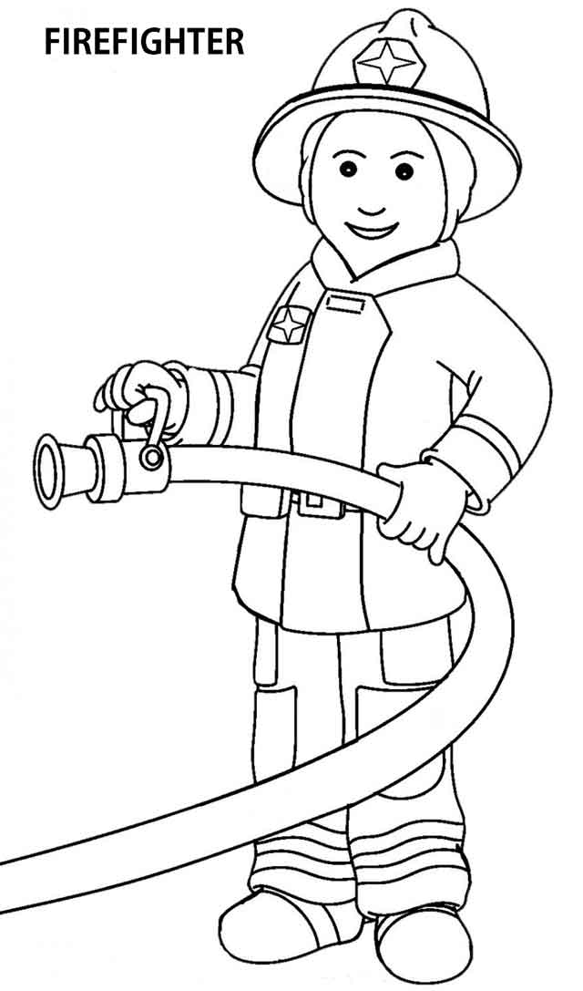- 14 Best Free Printable Community Helpers Coloring Pages For Kids