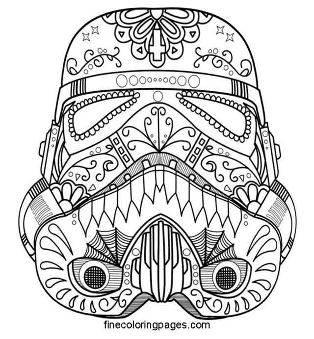 11 Best Free Printable Darth Vader Coloring Pages For Kids