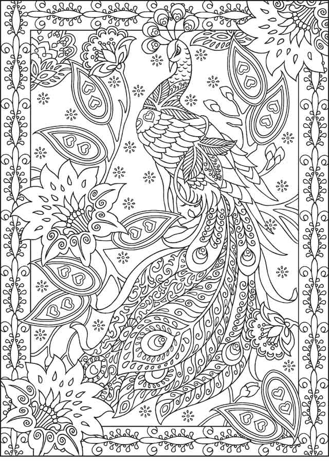 13 Best Free Printable Detailed Coloring Pages For Kids