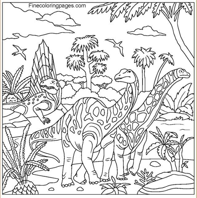 12 Best Free Printable Dinosaur Coloring Pages For Kids