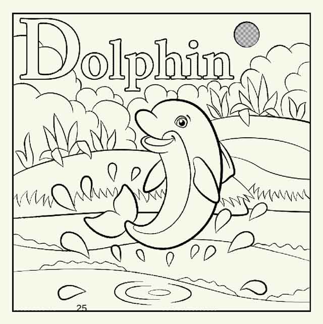 - 14 Best Free Printable Dolphin Coloring Pages For Kids