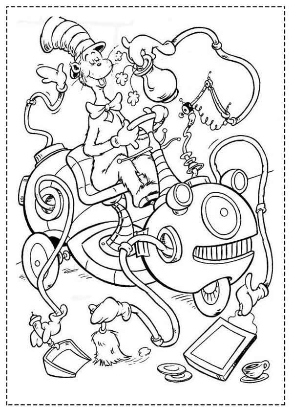 11 Best Free Printable Dr Seuss Coloring Pages For Kids