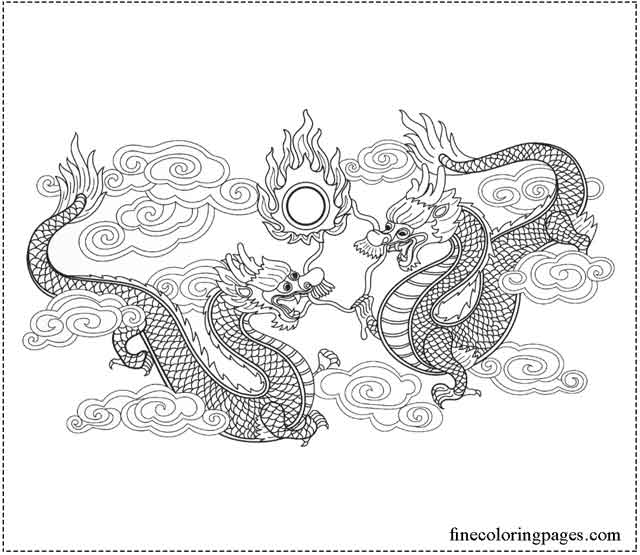 17 Best Free Printable Dragon Coloring Pages For Kids