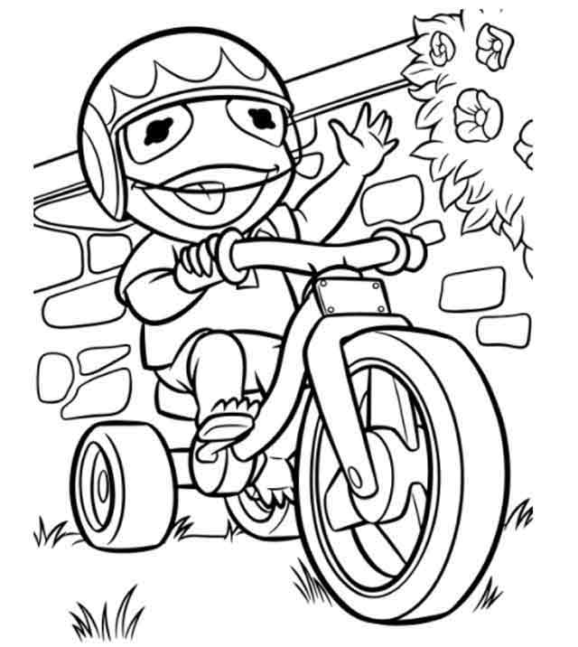 11 Best Free Printable Muppet Babies Coloring Pages For Kids